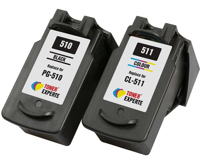PG510 PG-510 CL511 CL-511 TONER EXPERTE® 2 XL Cartuchos de Tinta ...