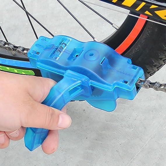 Someamy Aparato para Limpiar Cadenas de Bicicleta Limpiador ...