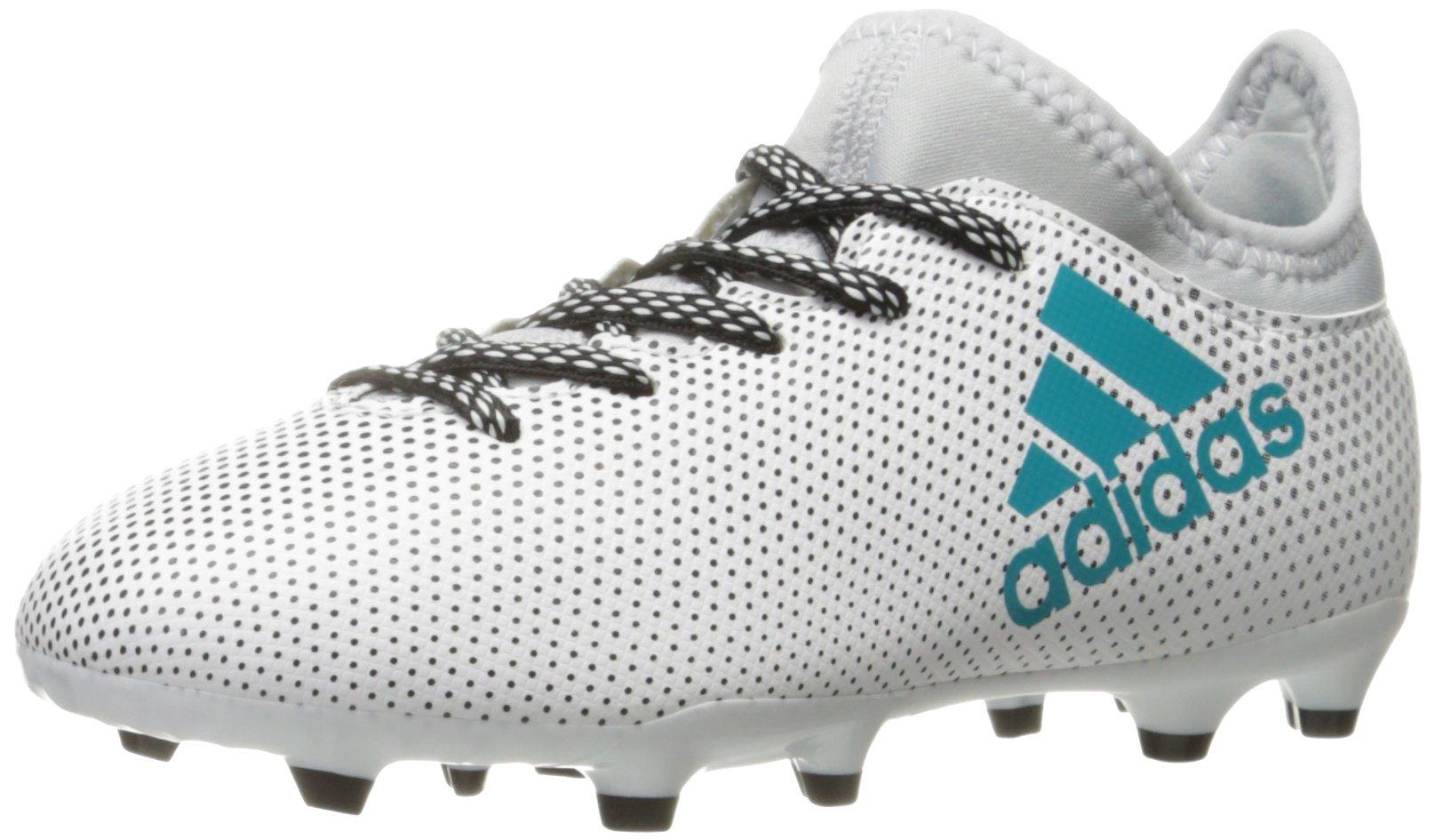 ADIDAS X 17.3 Fg J White Football Shoes