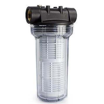 Fabulous AWM 2L Vorfilter 3000 l/h Wasserfilter Hauswasserwerk Pumpenfilter BB18