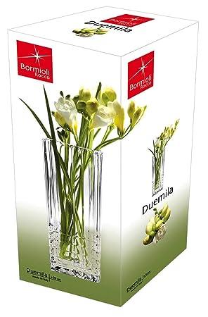 Bormioli Rocco Duemila Square Flower Vase With Gift Box Amazon