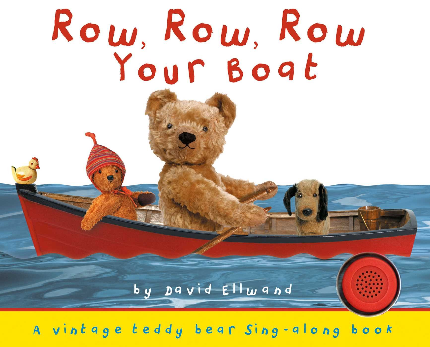 Row, Row, Row Your Boat (Teddy Bear Sing Along) by Silver Dolphin Books (Image #1)