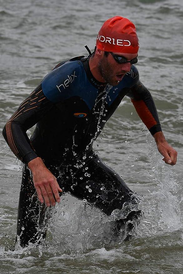 Triathlon Sundried Silicone Swim Hat Pro Series Concours de Formation Bonnet Open Water Piscine