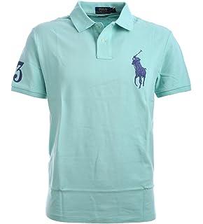 ... norway polo ralph lauren mens custom fit big pony mesh polo shirt 393a8  59183 e940605ce521
