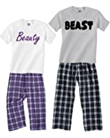 BEAUTY & BEAST Novelty Sleepwear Sets; Each Shirt-Pant Set Sold Separately