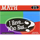 Teacher Created Resources Math Card Game - I Have Who Has - Grades 2 to 3