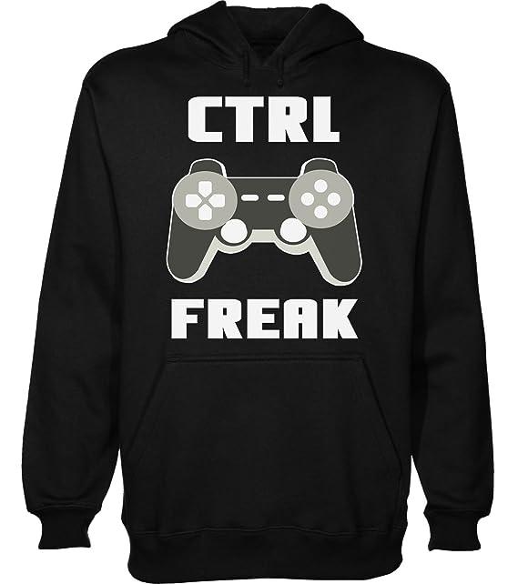 CTRL Freak Nice Gamer Controller Design Sudadera con Capucha para Hombre XX-Large: Amazon.es: Ropa y accesorios