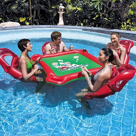 zjkc hinchable Asiento cuadro flotante de agua juego divertido PVC ...