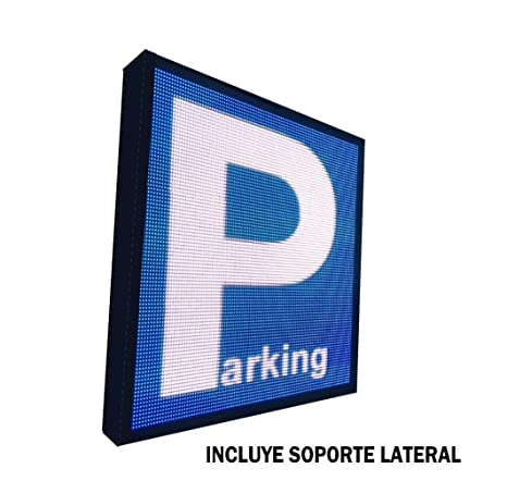 Rótulo LED programable Especial Parking (64x64 cm ...