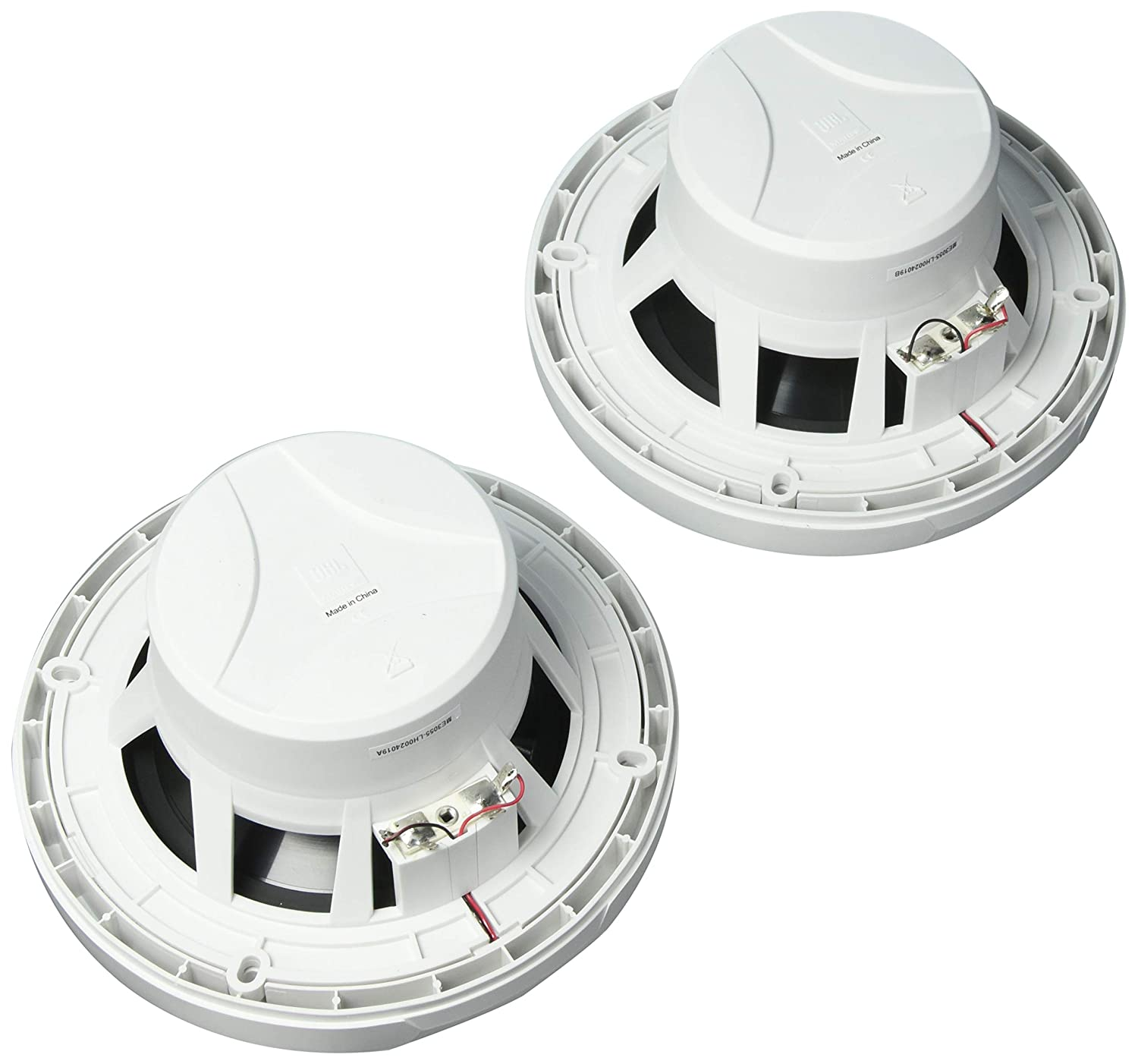 Pair 1 Year Direct Manufacturer Warranty NA-CWR-54172 JBL MS6520 180W White 6.5 Coaxial Marine Speakers -