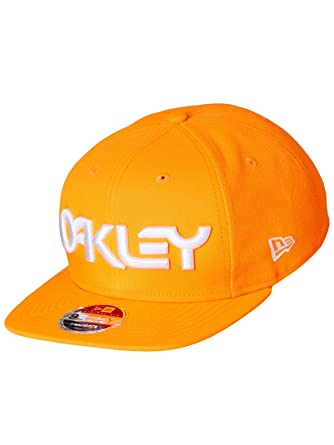 df00e9c2f4a Oakley New Era Neon Orange Mark II Novelty Snapback Cap  Oakley ...