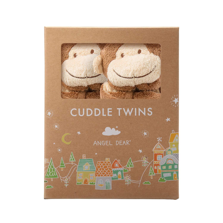 Angel Dear Cuddle Twin , Brown Monkey by Angel Dear