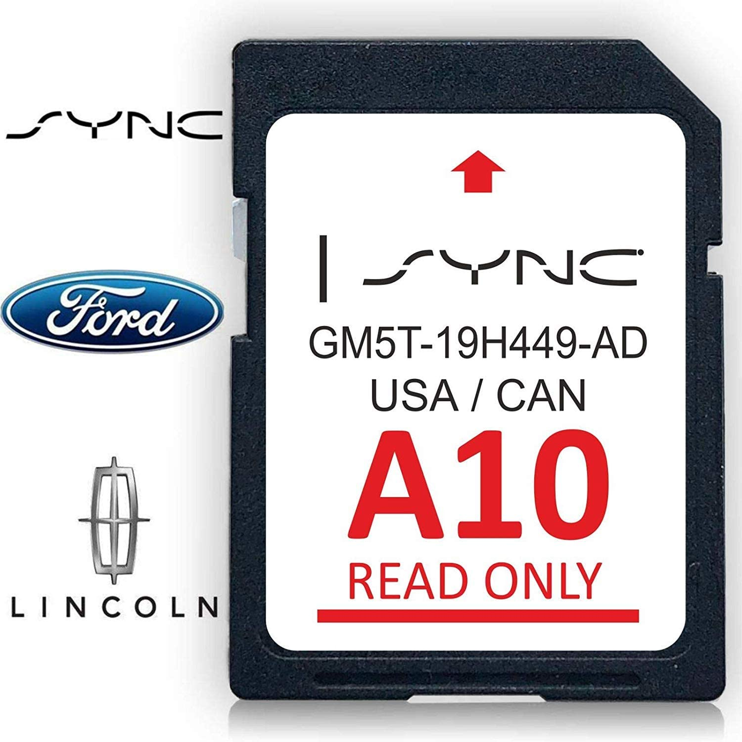 2019 LINCOLN UPDATES A9 2018 A10 MAP UPDATE GPS Navigation SD CARD SYNC FORD