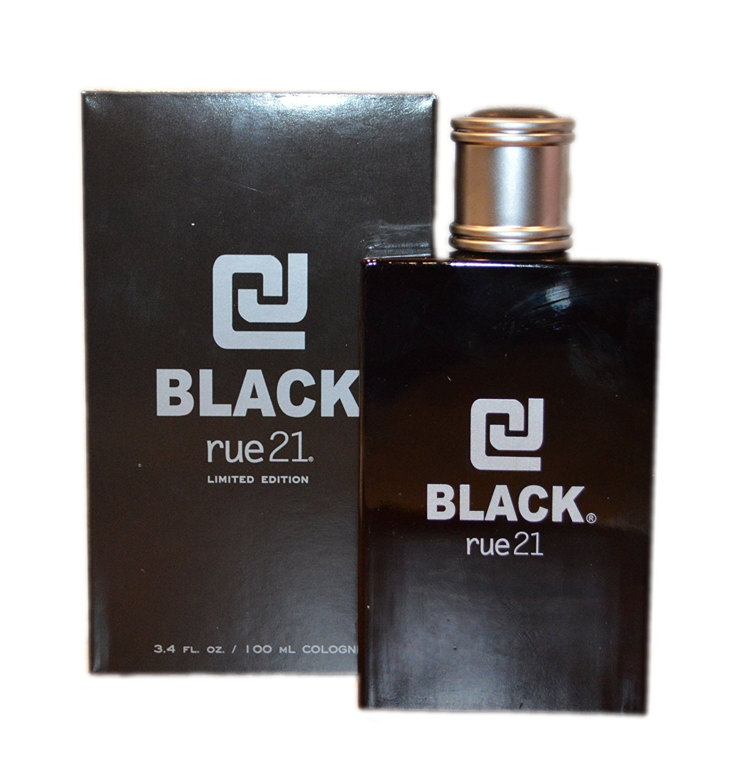Men's Rue21 CJ Black Limited Edition Cologne Spray For Him 3.4 Ounce Full Size Rue 21