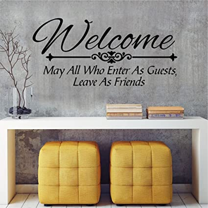 Highest Quality Wall Decal Sticker Welcome Home