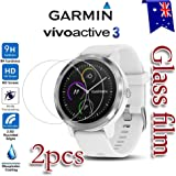 [2-Pack] Garmin Vivoactive 3 Tempred Glass LCD Screen Protector Film Guard For Garmin Vivoactive 3 Smart Watch