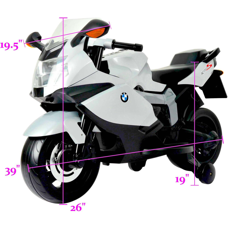 Amazon.com: Con licencia BMW para moto (12 V), funciona con ...