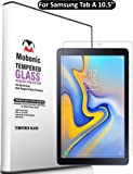 Mobonic 2.5D Curved 0.3mm Flexible Gorilla Tempered Glass Guard Screen Protector for Samsung Galaxy Tab A 10.5 Inch Screen Size SM-T590 (Wi-Fi) SM-T595 (LTE) (Pack of 1)