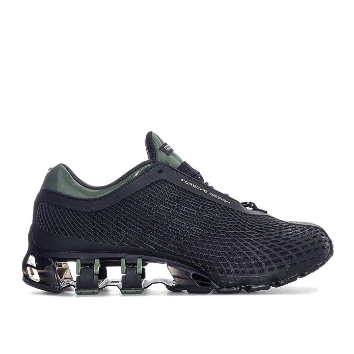 c0c15211b2897 adidas Mens Porsche Design Mens Porsche Design Sport Bounce S2 Trainers in  Black  Amazon.co.uk  Shoes   Bags