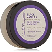 Carol's Daughter Black Vanilla Moisture & Shine Edge Control Smoother For Dry Hair and Dull Hair, with Aloe and Honey, Clear Edge Smoother, Edge Tamer, 2 oz (Packaging May Vary) 1 Count