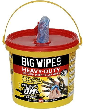 BIG WIPES 2427-4 X 4-Pulgadas De Altas Prestaciones De Limpieza Toallitas (