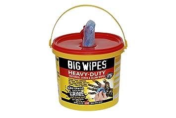 BIG WIPES 2427-4 X 4-Pulgadas De Altas Prestaciones De Limpieza Toallitas (Paquete De 240): Amazon.es: Coche y moto