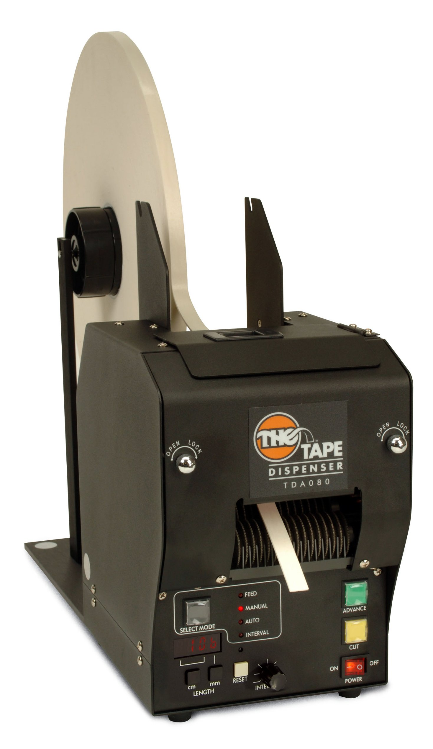 START International TDA080-NS Electronic Heavy Duty Tape Dispenser for Foam and High Tack Tapes