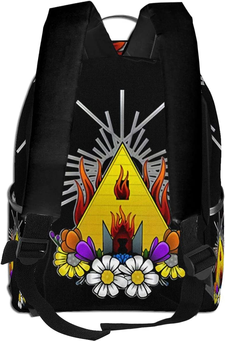 Summer Midsommar Movie Laptop Backpack Fashion Theme School Backpack