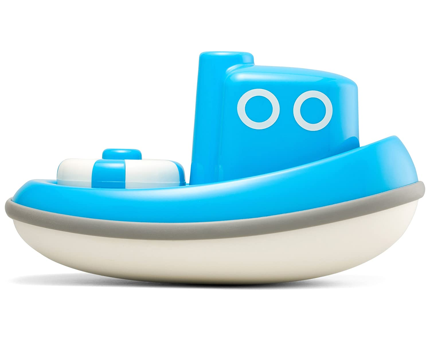 Amazon.com: Kid O Floating Tug Boat Bath Toy - Blue: Toys & Games