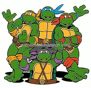 14 Sheet  90s Teenage Mutant Ninja Turtles Cartoon Birthday