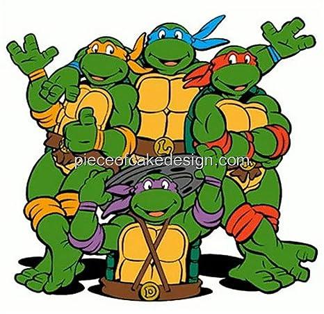 1/4 Hoja ~ 90s Teenage Mutant Ninja Turtles Cartoon ...