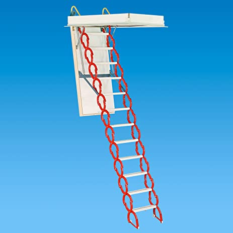 Rainbow M3060H 30u0026quot;W x 60u0026quot;L Prestige Telescoping Attic Ladder / Stair  sc 1 st  Amazon.com & Rainbow M3060H 30