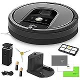 iRobot Roomba 960 Robotic Vacuum Cleaner Bundle with Accessories (6 Items)