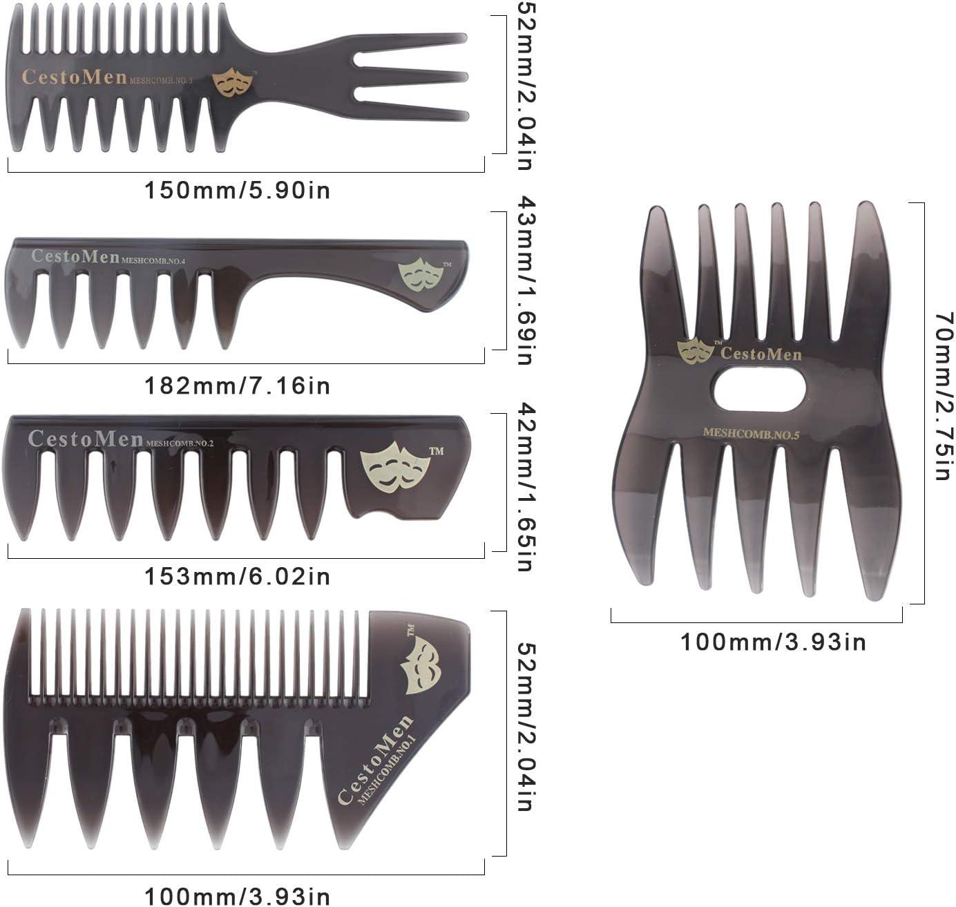 3 x 20 C M Pettine per capelli parrucchieri//barbieri//Donna//Da Uomo//Gents SALON Qualità Nuovo