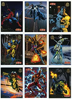 5b5d45e2e36 1994 Fleer Marvel Universe Series-V 200-Card New Complete Base Set in  Collector
