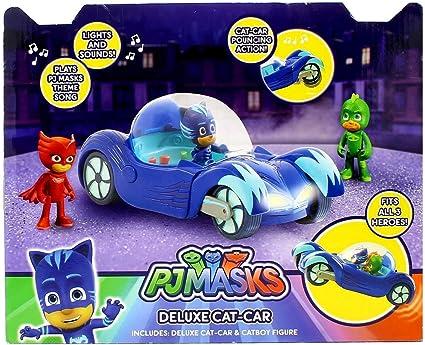 BANDAI PJ Masks Vehículo Deluxe Gatuno : Amazon.es: Juguetes ...