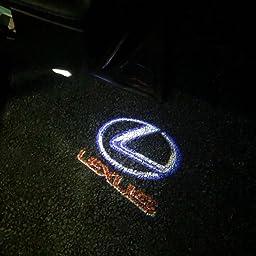 Amazon Geeandly 車用 カーテシーランプ インフィニティロゴ 高輝度のledチップ カーテシライト ドアライト 2個セットドア 前後左右取り付け可能 角度調整機能付き 適合 Infiniti White カーテシーランプ 車 バイク