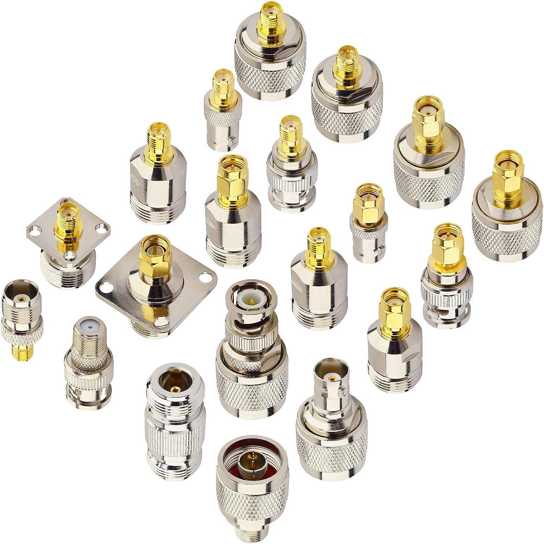 YiLIANDUO - Adaptador SMA Kit 20 Tipo Conector coaxial RF SMA ...