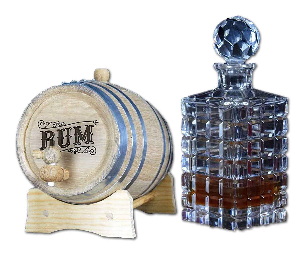 Engraved Rum Barrel (B523) (2 Liter)