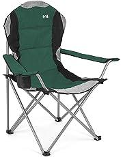 Luxury Elite Chair Folding Camping Fishing Hiking Garden Directors Seat Festival