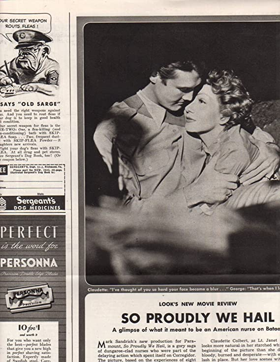 Claudette Colbert George Reeves original clipping magazine photo 2page 9x12 #Z7120 at Amazons Entertainment Collectibles Store