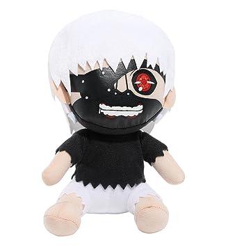 Gran Entretenimiento Oriental Tokio Ghoul Kaneki máscara Sentado de Peluche (