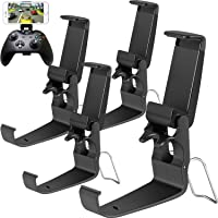 Jovitec Foldable Controller Clip Mobile Phone Plastic Holder Smartphone Game Clamp for Xbox One Controller (4 Pack)