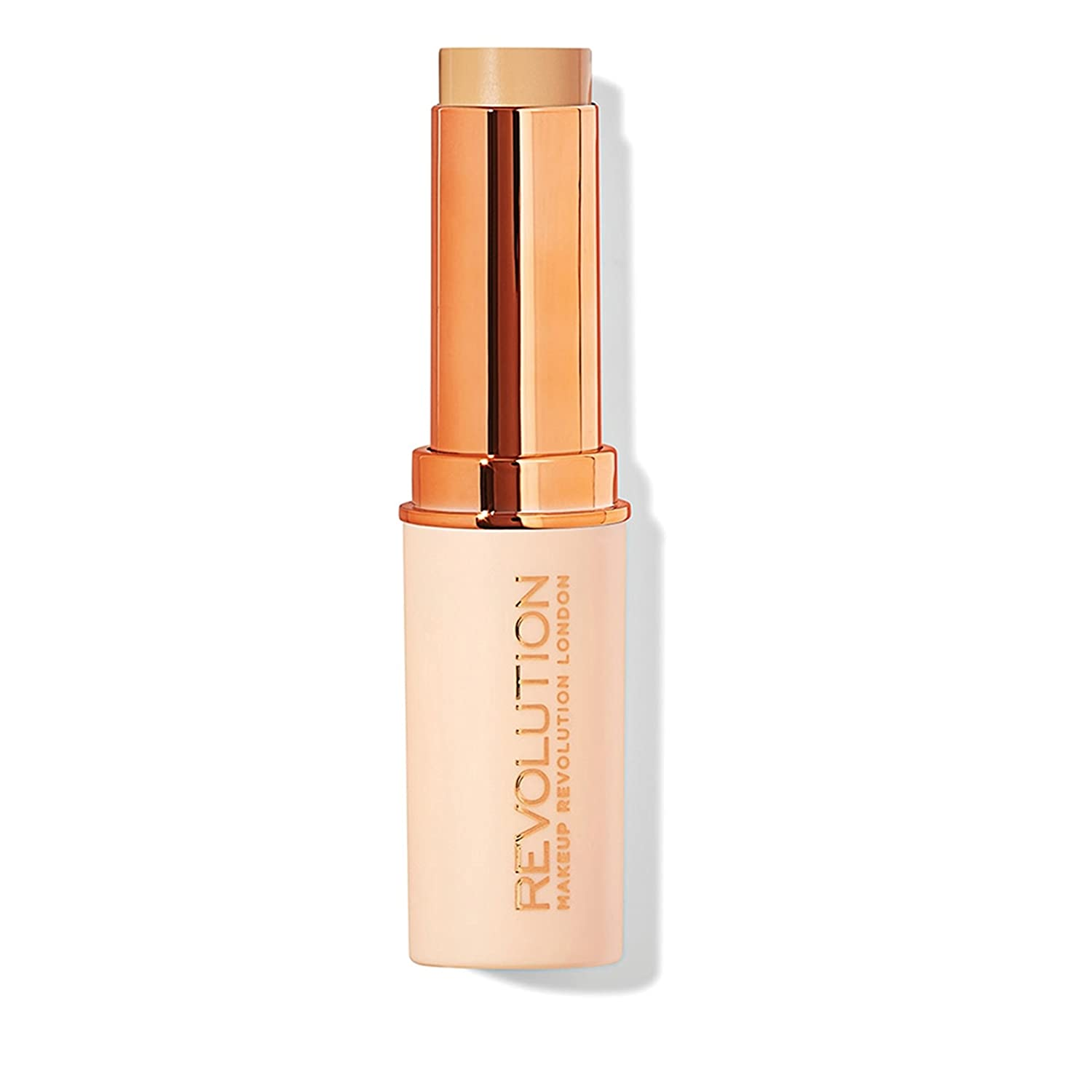Makeup Revolution Fast Base Stick Foundation F9, Brown, 30g