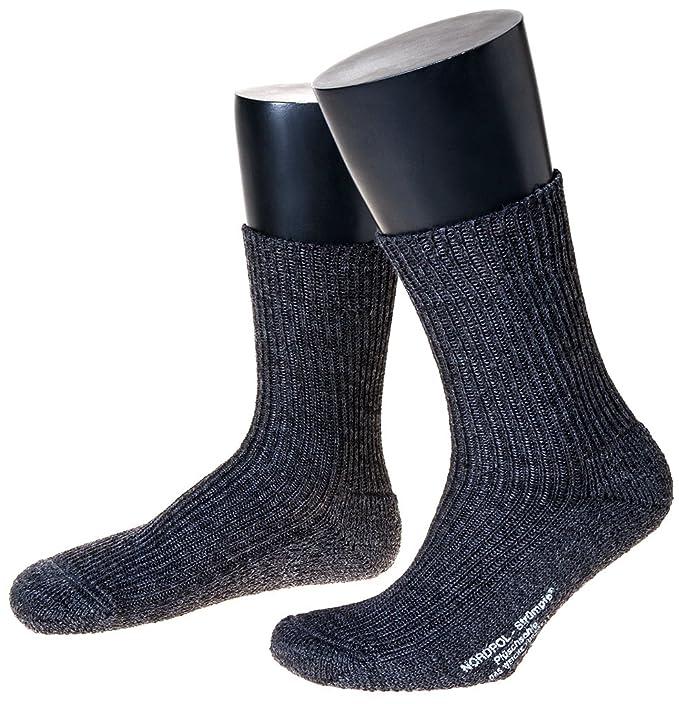 Woll Calcetines con suela de felpa Bundeswehr en pack 3 gris 46 : Amazon.es: Ropa y accesorios
