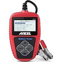 ANCEL BA101 Professional 12V 100-2000 CCA 220AH Automotive Load Battery Tester Digital Analyzer Bad Cell Test Tool for…