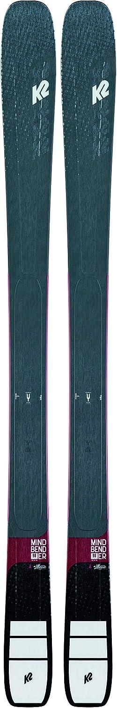 K2 – Pack de esquí Mindbender 98 Ti + Fijaciones de alianzas, 11 ID para Mujer, Azul, Mujer y Azul