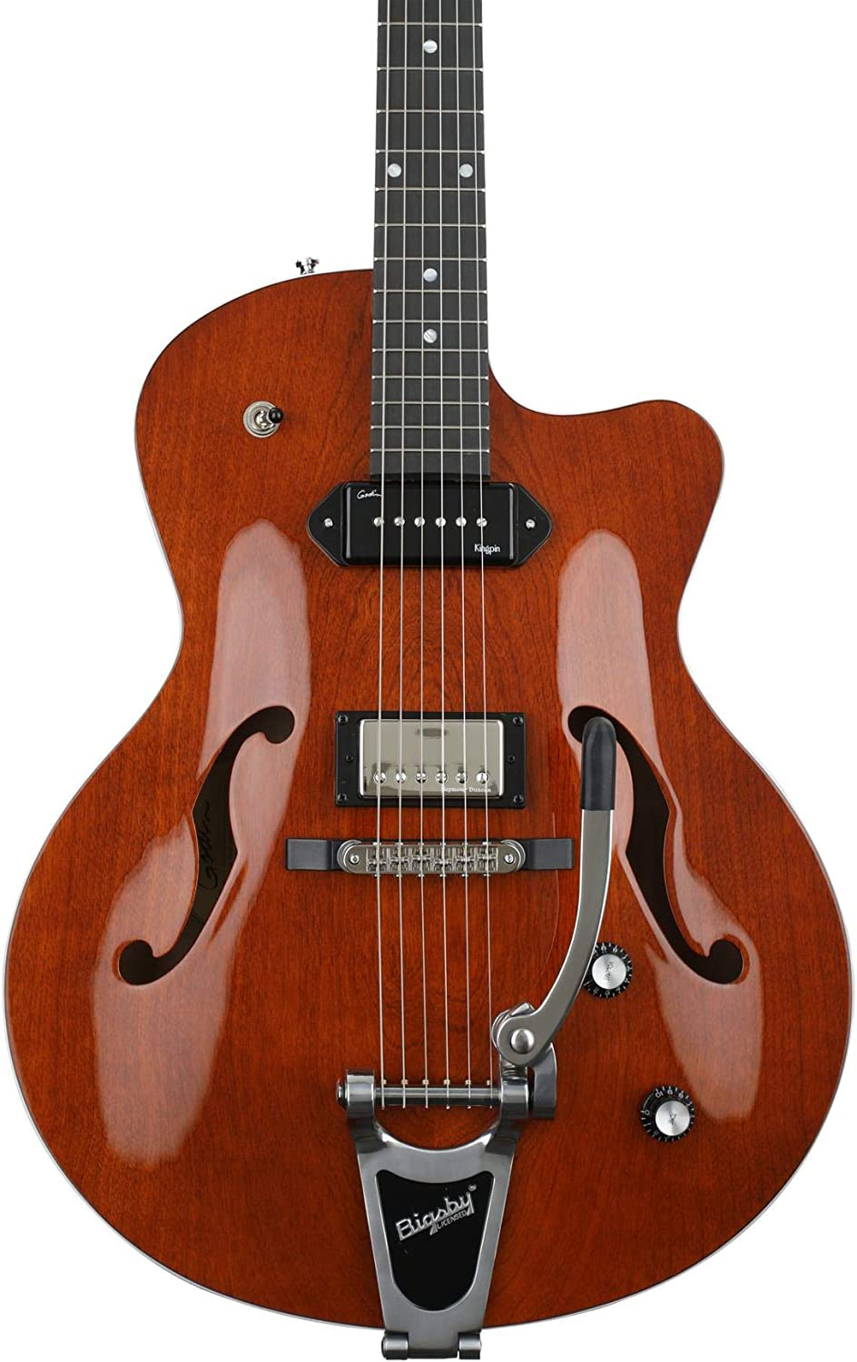 Godin 5th Ave Uptown Custom Havana Brown · Guitarra eléctrica