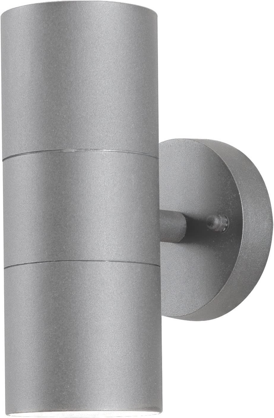 Konstsmide Outdoor Lights Modena Large Up And Down Outdoor Wall Light 2 X 35 W Gu10 Max Wall Lamp Clear Glass Lens Ip44 Outside Light Grey Amazon Co Uk Garden Outdoors