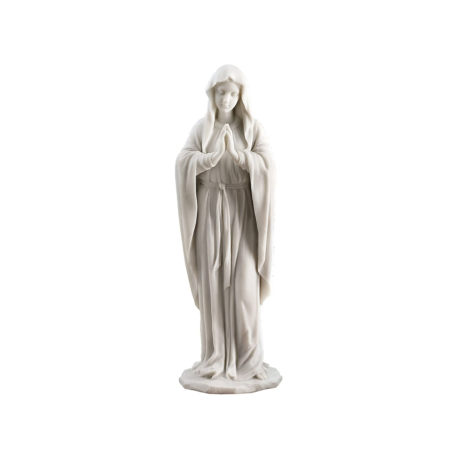 Design Toscano Virgin Mary the Blessed Mother of the Immaculate Conception Religious Garden Statue,58.5 cm, Polyresin, Full Color Interpet Ltd KY53061
